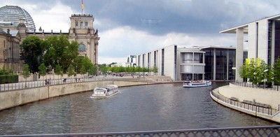Boats on the River Spree