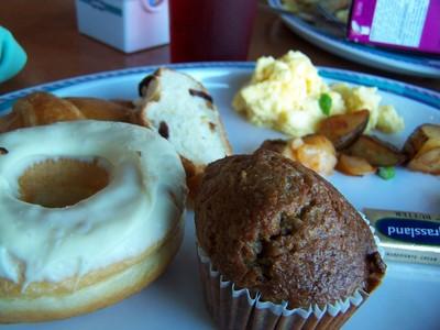 My Windjammer breakfast