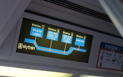 Skytrain stops