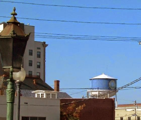 Elizabeth City water tower from a subsequent visit