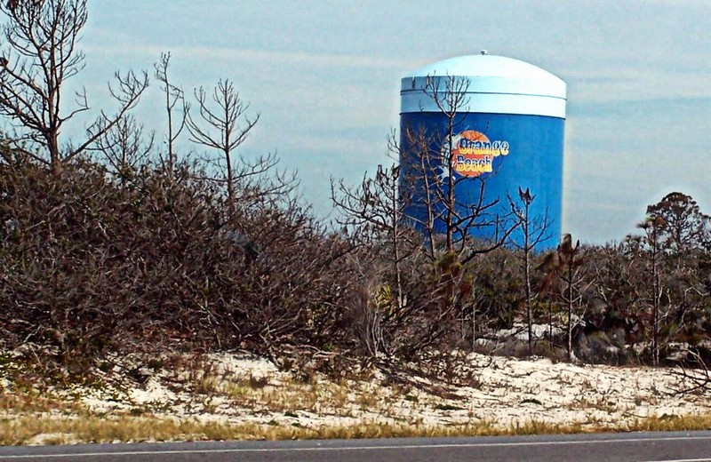 Orange Beach water tower