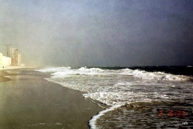 Surf on the beach