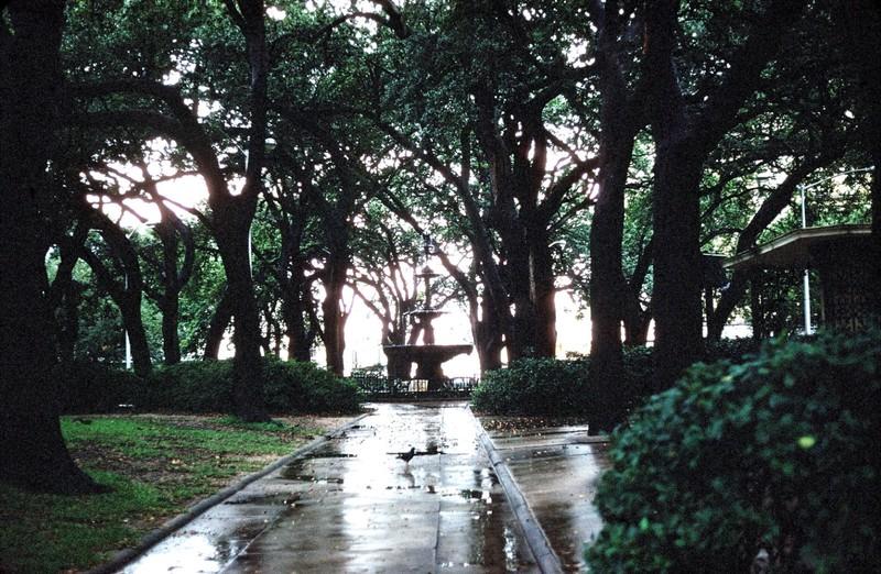 Park in Mobile 1959