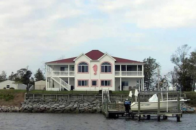 PInk Seahorse House
