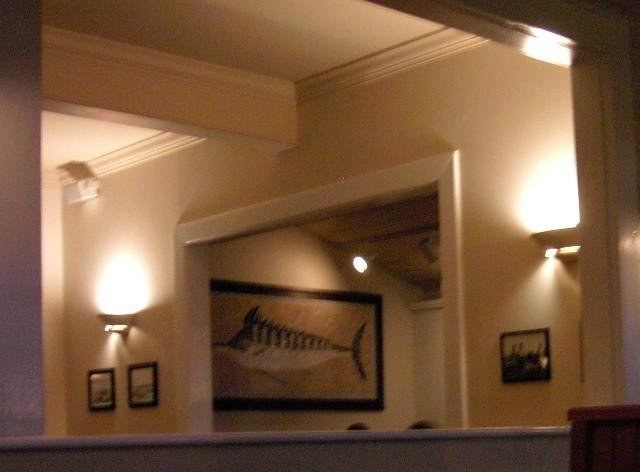 Inside Riverview Restaurant