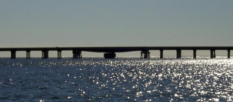 Nassau Sound non-opening swing bridge