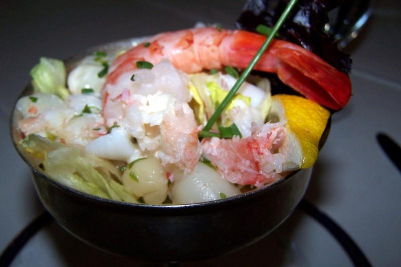 Alaskan Seafood Cocktail
