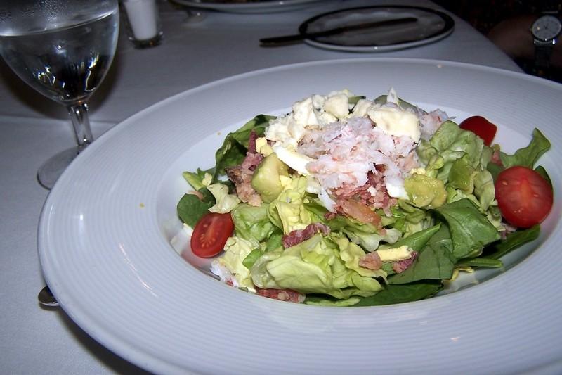 Alaskan King Crab Cobb Salad