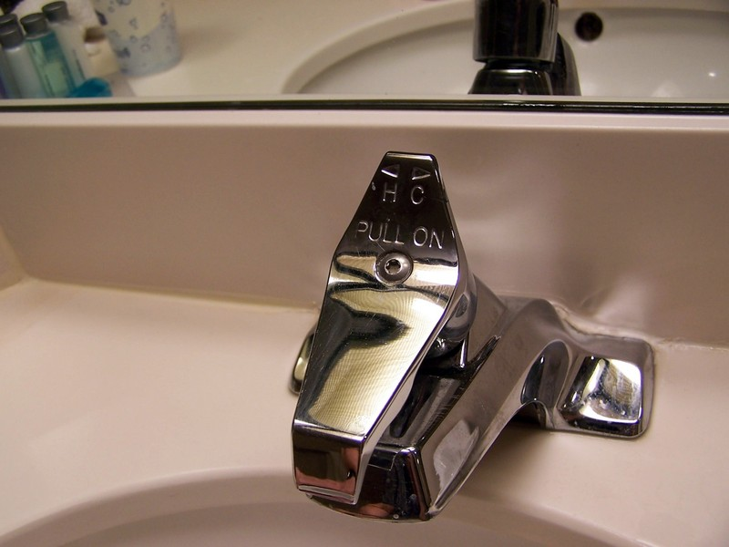 Hampton Inn sink faucet
