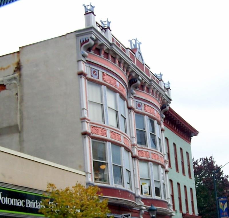 Architectural details in Hagerstown