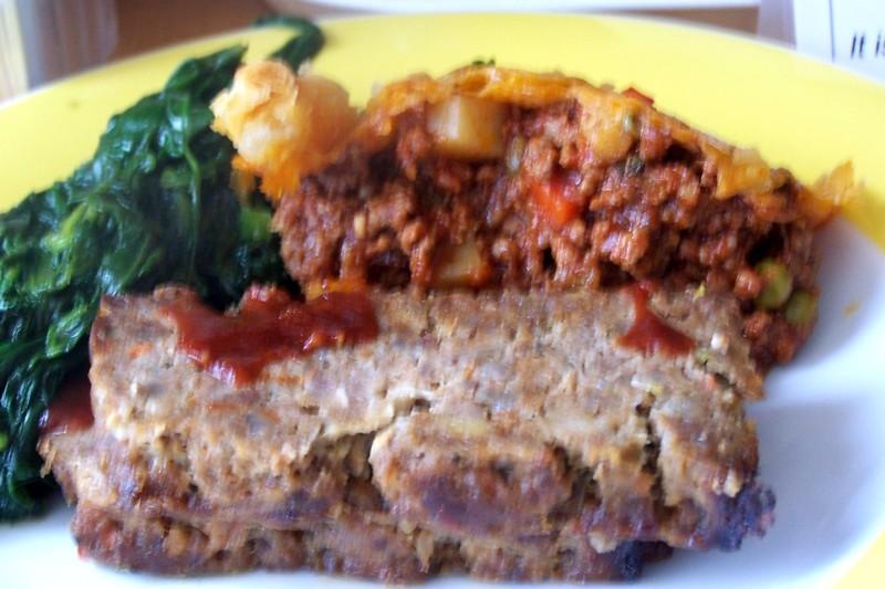 BBQ meat loaf