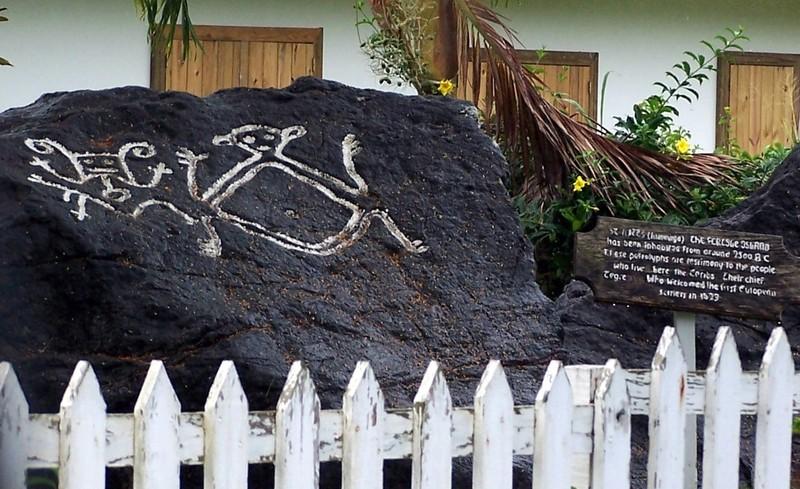 Carib Petroglyph