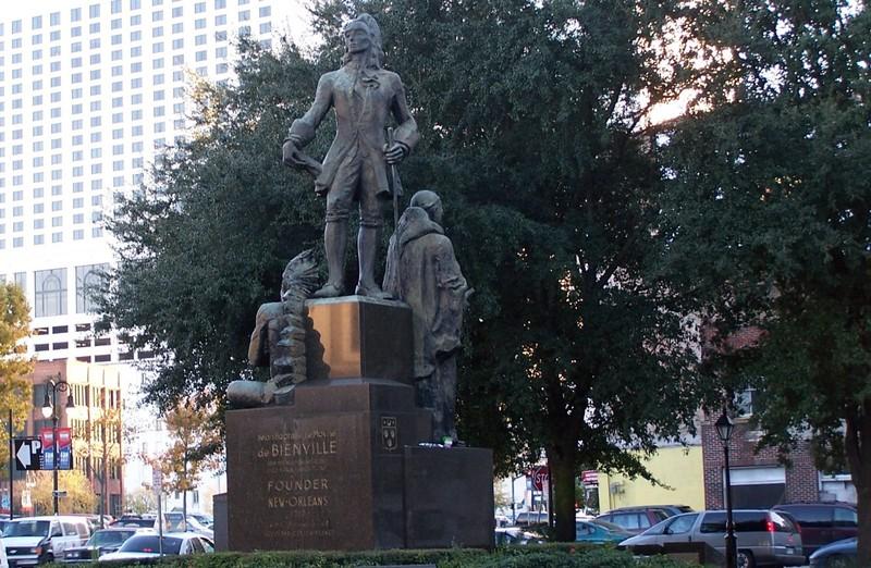 de Bienville Statue