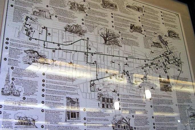 Historic area map