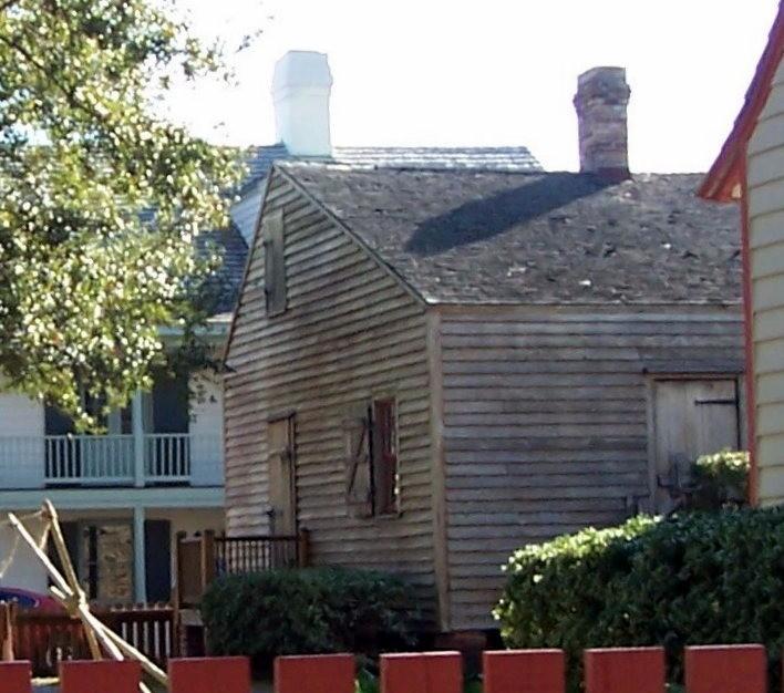The back of Julee Cottage