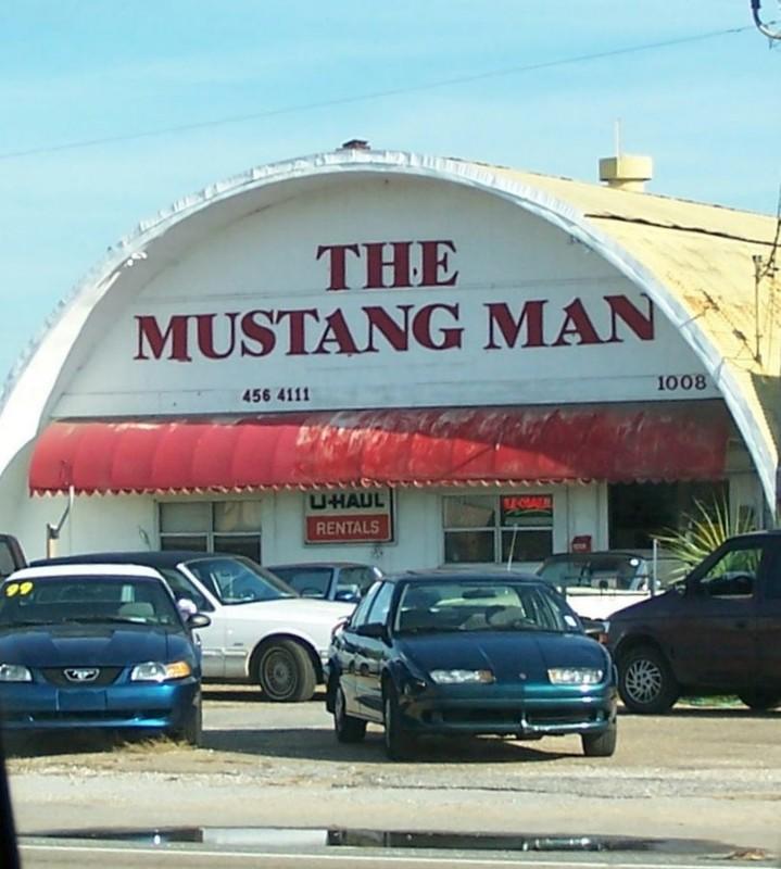 The Mustang Man