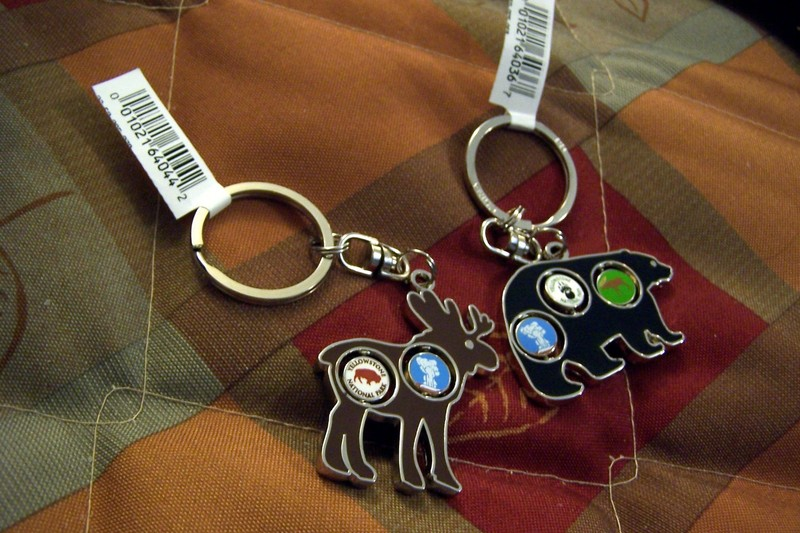 Key rings with spinners - $6.99 each