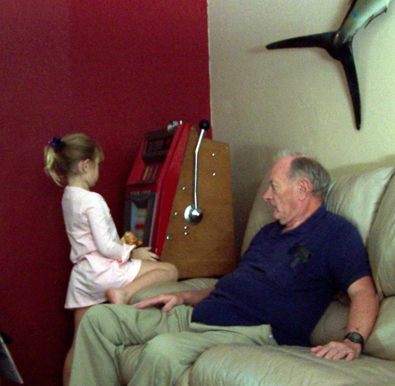 Bob and our granddaughter