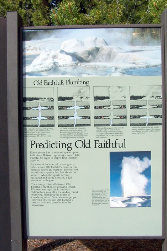 Old Faithful explanation