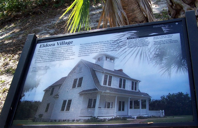 Eldora Village sign