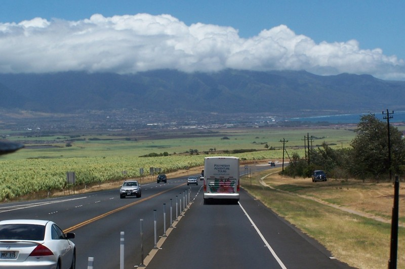 Heading for Haleakala