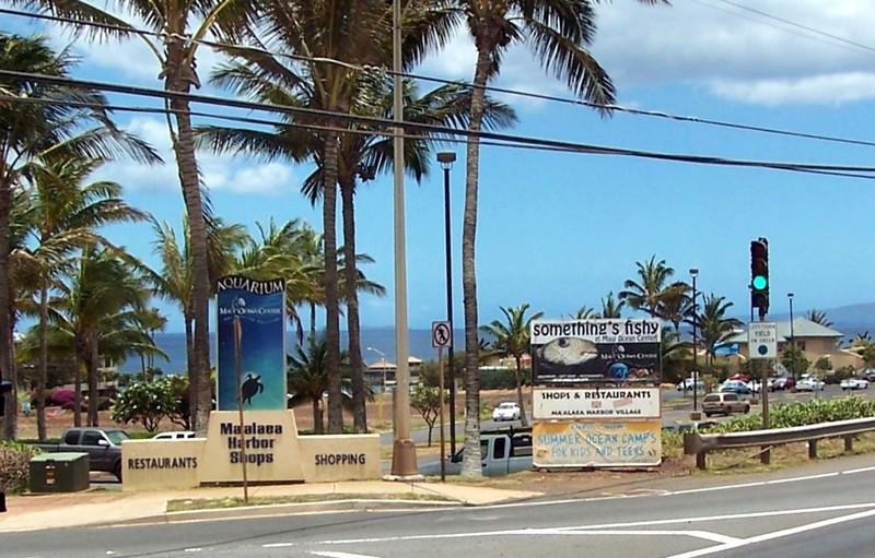 Approaching Maui Ocean Center