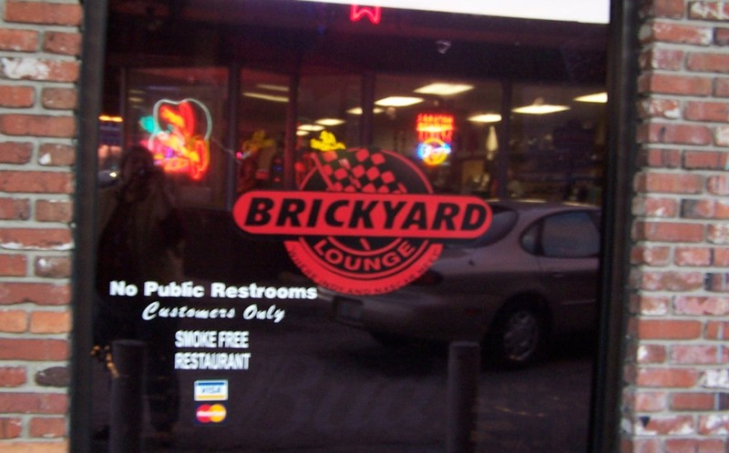 Brickyard front door