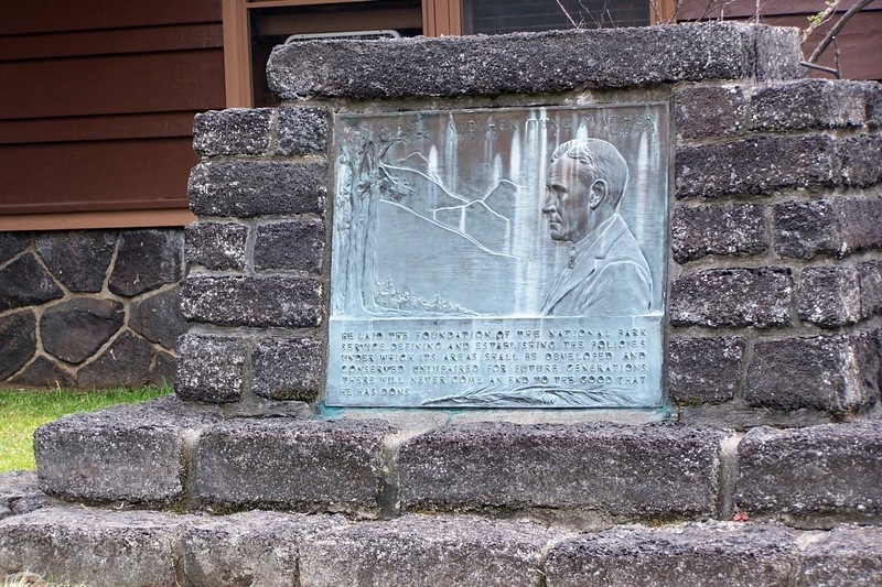 Stephen Mather plaque