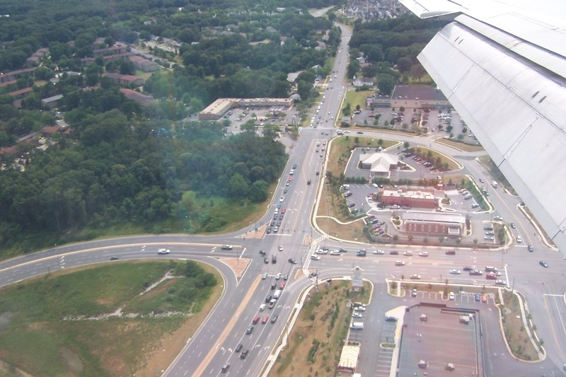 Coming in for a landing at BWI