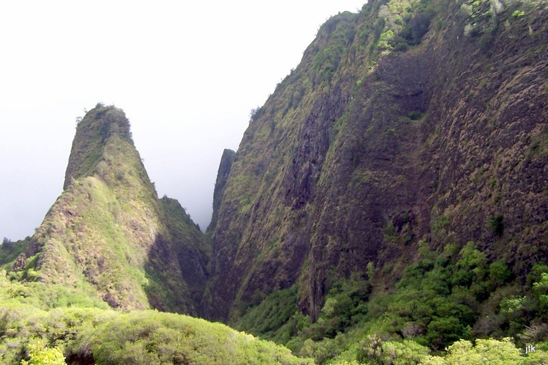 Iao Needle from the path
