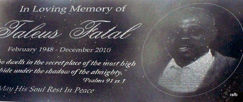 Taleus Fatal in Pinder's Point