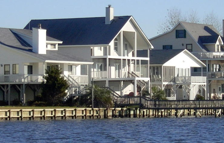 Houses on the ICW