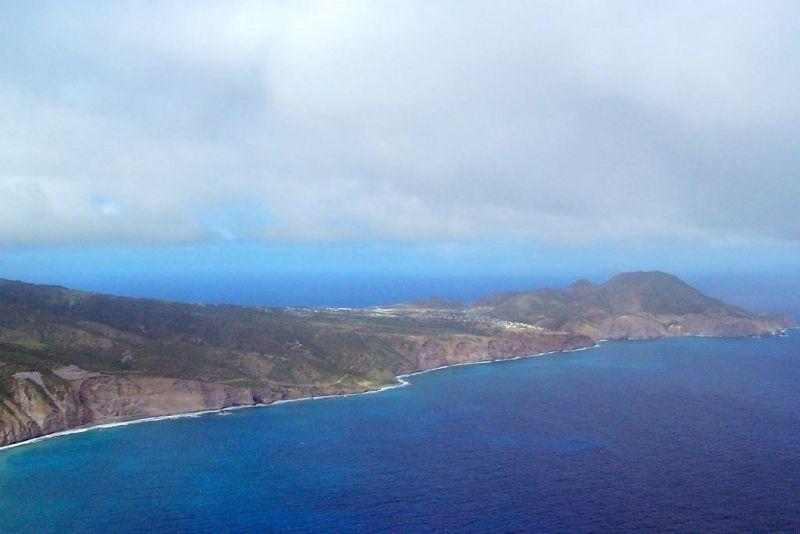 Inhabited part of Montserrat