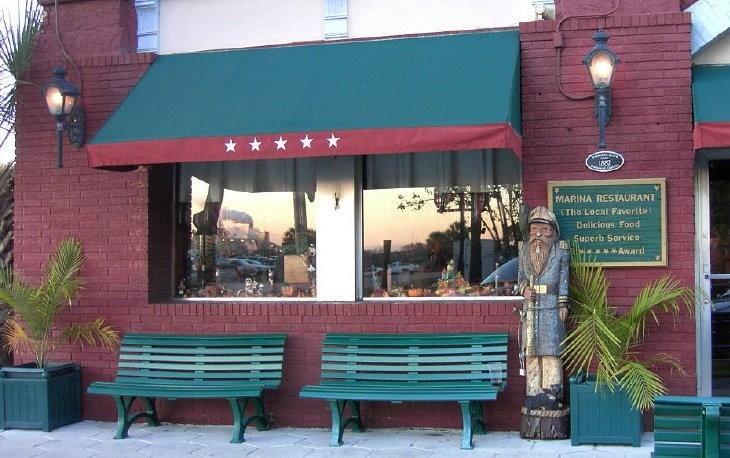 The Marina Restaurant.