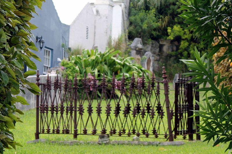 One of the graves at Ebenezer Methodist Cemetery