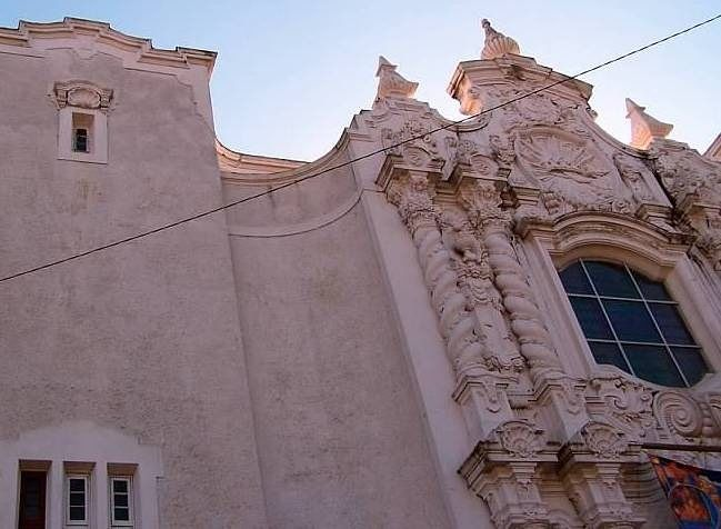 Facade of Government Street Methodist Church