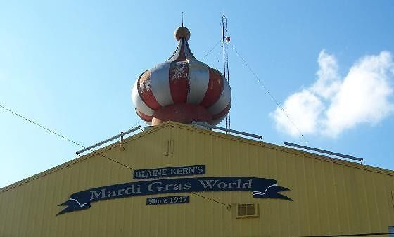 Roof Peak at Mardi Gras World