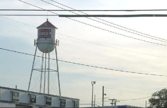 Old Frisco Water tower