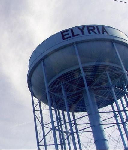 Elyria water tower