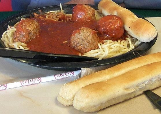 Bob's sphagetti and meatballs