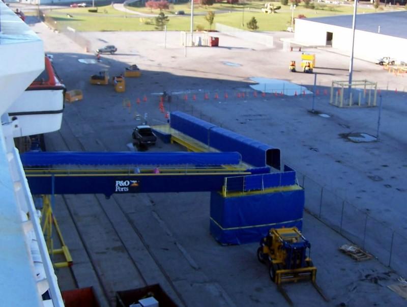 Dock area in 2004