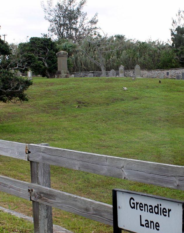 Military Cemetery Grenadier Lane