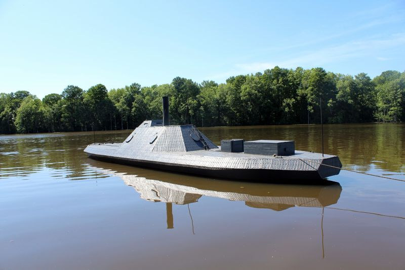 CSS Albemarle operable to-scale replica