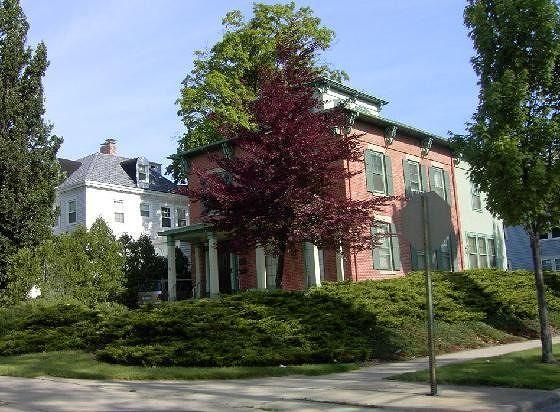 Charles Martin Hall house