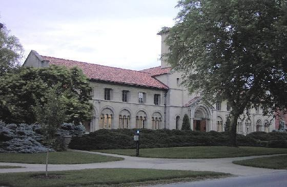 Former Theology Building