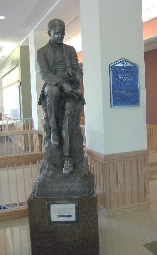 Charles Martin Hall's statue
