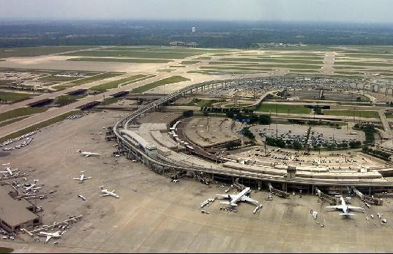 DFW from the air