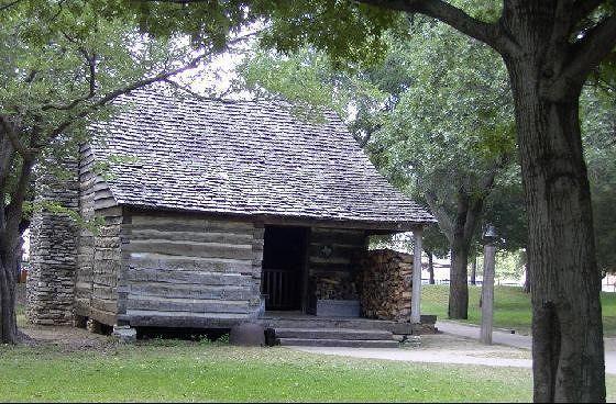 1847 Miller Log Cabin