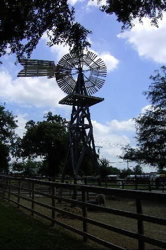 Windmill at Old City Park