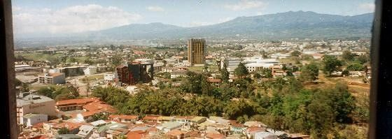 View of San Jose in 1996 from the Jade Museum